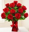 Red Roses - One Dozen Valentine