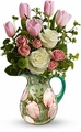 Spring Pitcher Bouquet