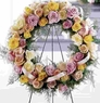 Sympathy Rose wreath