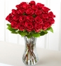 Two Dozen Red Roses lpng stems