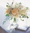 White Roses & Lily