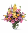 Yellow and Lavender Delight Flowers