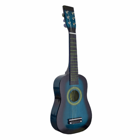 23 Inch Blue  Acoustic Toy Guitar for Kids - & DirectlyCheap(TM) Translucent Blue Medium Guitar Pick