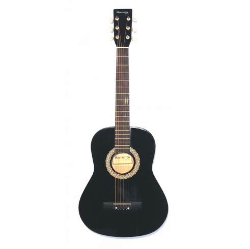 "3/4 Scale 36"" Inch Acoustic Black Junior Beach Beater"
