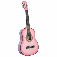"""32"""" Inch Pink Kids Children Novelty Acoustic Toy Guitar"""