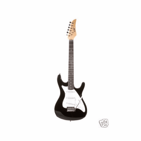 """Assassin 39"""" Inch Black Full Size Electric Guitar Beauty"""