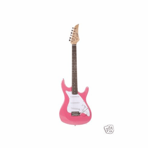 "Assassin 39"" Inch Metallic Pink Full Size Electric Guitar Beauty"