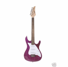 "Assassin 39"" Inch Translucent Purple Full Size Electric Guitar Beauty"