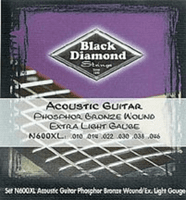 Black Diamond Bronze Wound Acoustic Guitar Strings Set