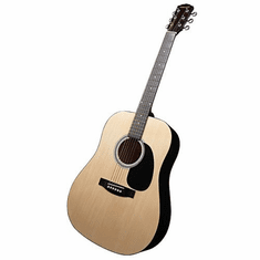 Fender Star-caster Acoustic Electric Natural Guitar