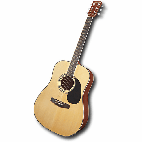 Fender Starcaster Acoustic Dreadnought Natural Full Size Acoustic Guitar