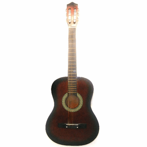 "Fret 38"" Inch Coffee Student Acoustic Guitar"