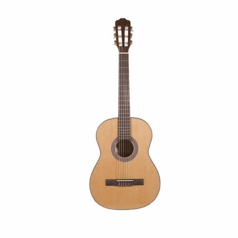 "Fret 38"" Inch Natural Student Acoustic Guitar"