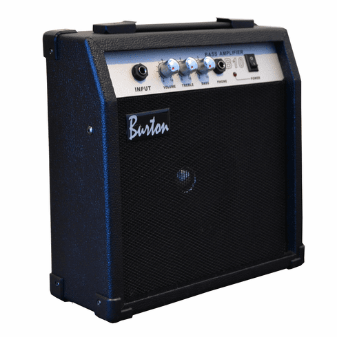Glen Burton 10 Watt Practice Electric Bass Guitar Amplifier