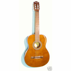 """Huntington Nylon String 41"""" Inch Brown Classical Limited Edition Full Size Guitar"""