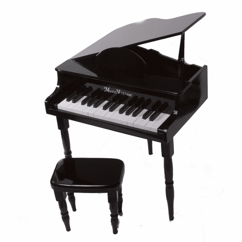 Petite Baby Grand Piano Black