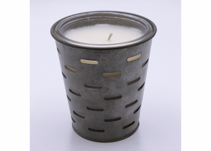 100% Cotton Olive Bucket Candle by Park Hill Collection