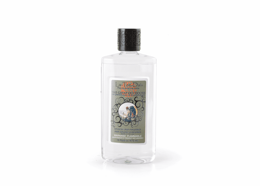 16 oz The Great Outdoors Fragrance Lamp Oil by La Tee Da