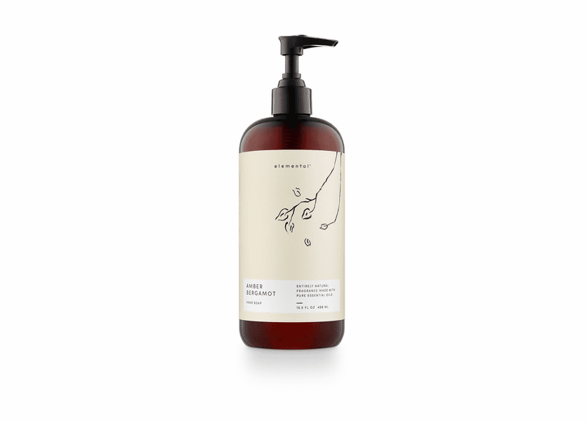 Amber Bergamot Elemental Hand Soap by Illume Candle