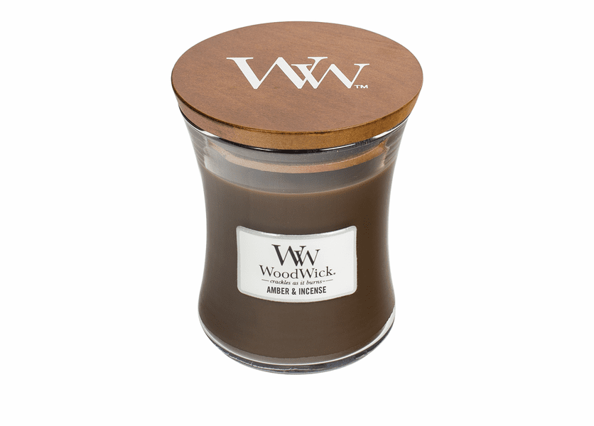 Amber & Incense WoodWick Candle 10 oz.