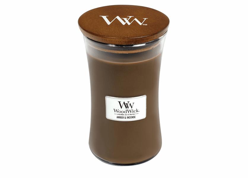 Amber & Incense WoodWick Candle 22 oz.