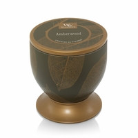 CLOSEOUT - Amberwood Gallerie Tin WoodWick Candle