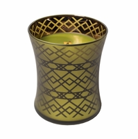 NEW! - Apple Basket WoodWick Dancing Glass Candle