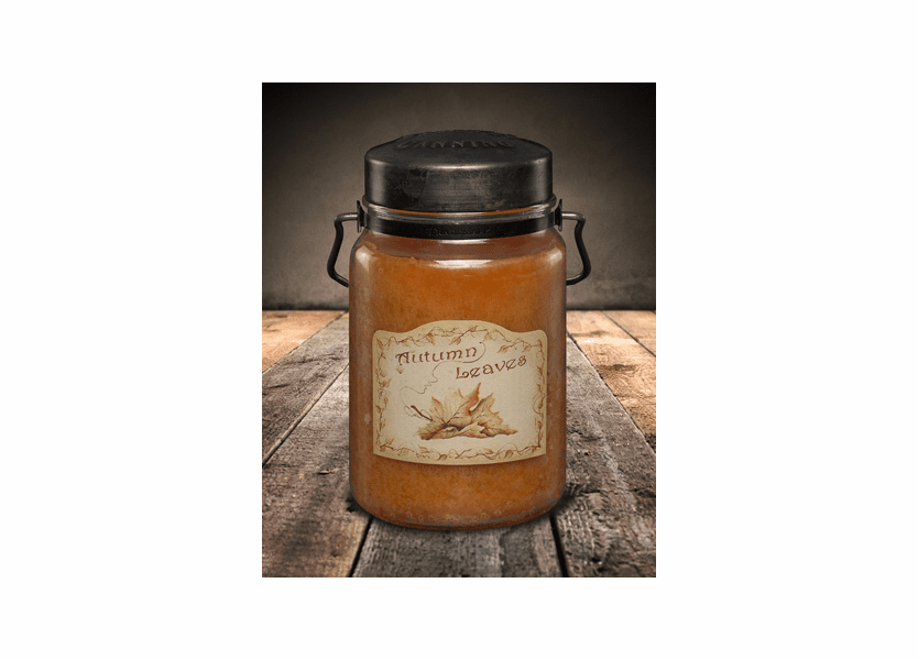 Autumn Leaves 26 oz. McCall's Classic Jar Candle