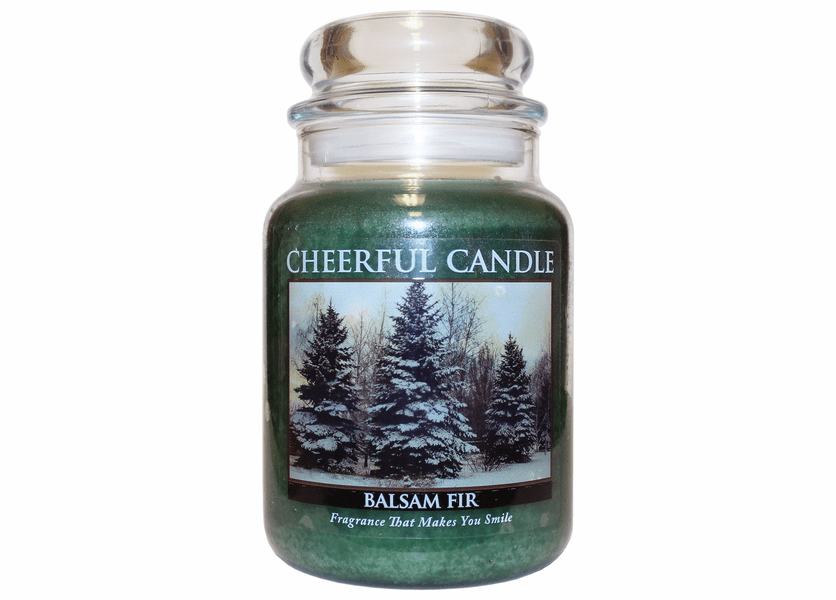 Balsam Fir 24 oz. Cheerful Candle by A Cheerful Giver