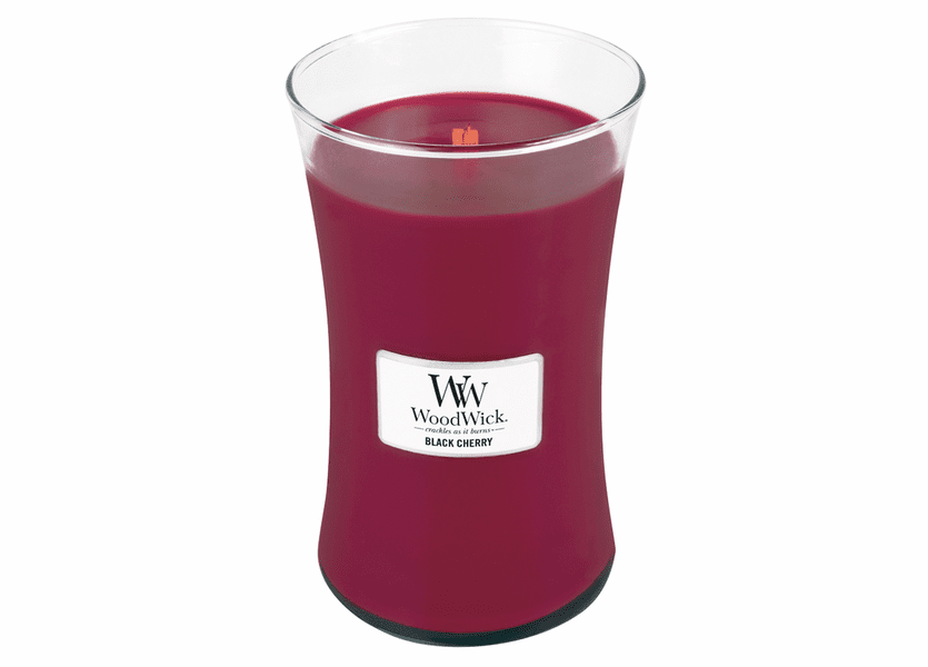 Black Cherry WoodWick Candle 22 oz.