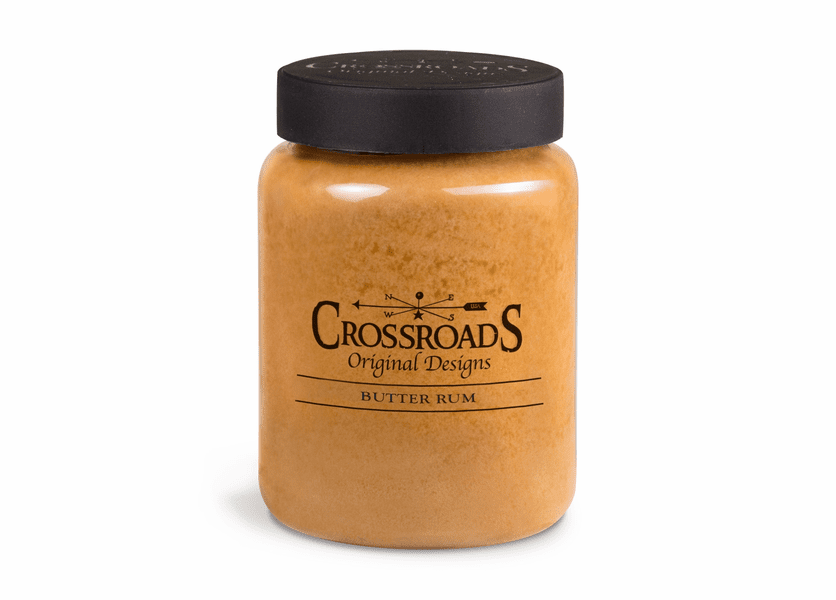 Butter Rum 26 oz. Crossroads Candle