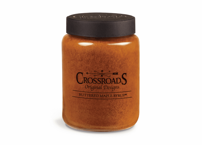 Buttered Maple Syrup 26 oz. Crossroads Candle
