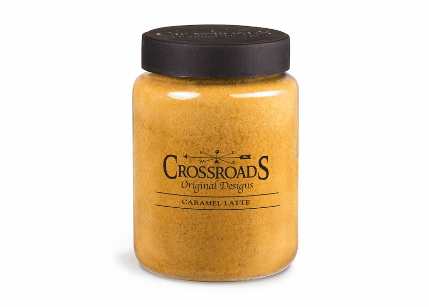Caramel Latte 26 oz. Crossroads Candle