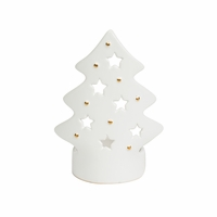 Ceramic Tree Petite Holder WoodWick Candle