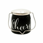 CLOSEOUT - Cheers! (Celebrate) Jar 16 oz. Sentiments Special Edition Wrapped Butter Jar by Milkhouse Candle Cre | Milkhouse Candle Creamery Closeouts