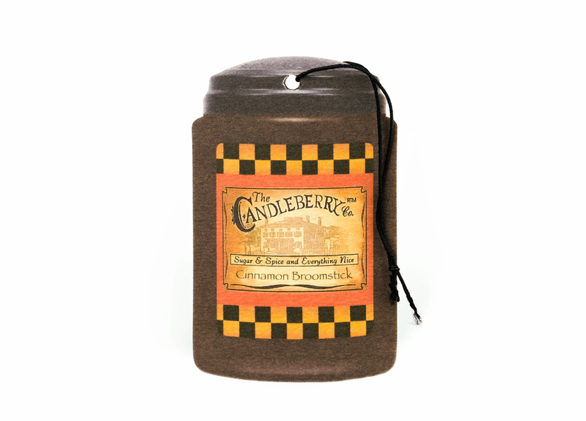 Cinnamon Broomstick Fresh-Car-Go by Candleberry Candle