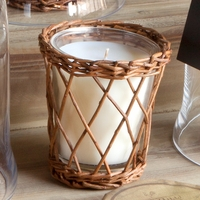 CLOSEOUT - Autumn Persimmon Willow Candle by Park Hill Collection