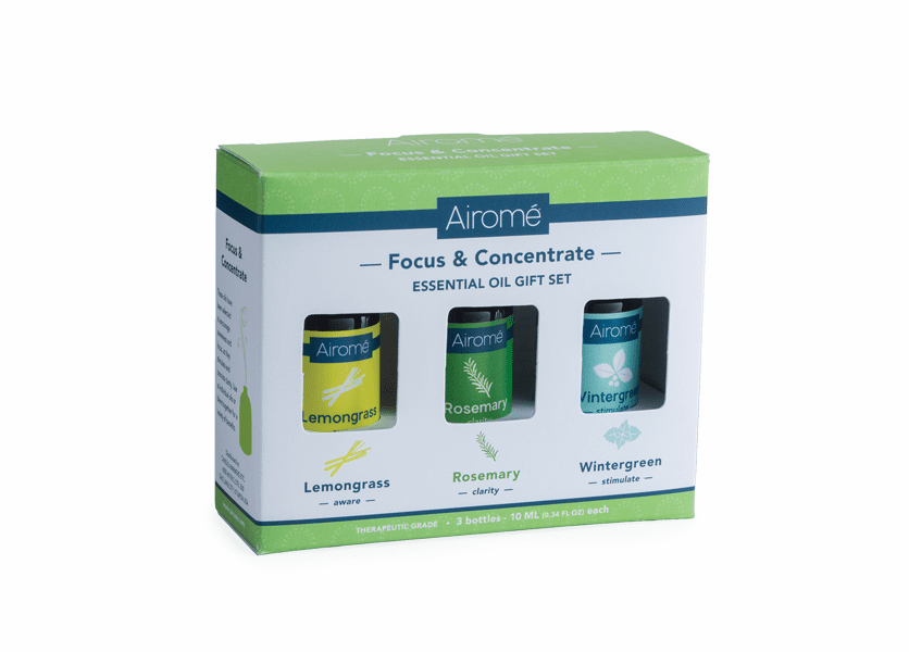 CLOSEOUT - Focus & Concentrate Essential Oil Gift Set