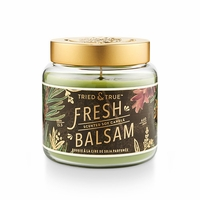 CLOSEOUT - Fresh Balsam 15.5 oz. Large Jar Candle by Tried & True