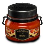 CLOSEOUT - Ginger Peach 8 oz. McCall's Double Wick Classic Jar Candle | McCall's Candles Closeouts