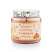 CLOSEOUT - Heirloom Pumpkin 15.5 oz. Large Jar Candle by Tried & True