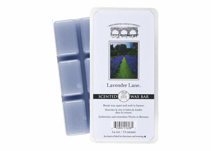 CLOSEOUT - Lavender Lane Scented Wax Bars - Bridgewater