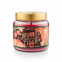 CLOSEOUT - Mulled Cider 15.5 oz. Large Jar Candle by Tried & True