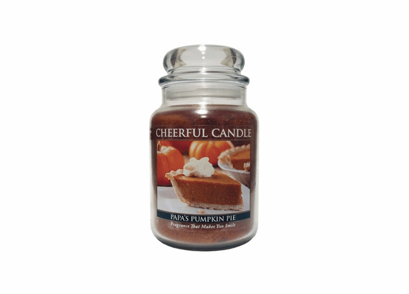 _DISCONTINUED_Papa's Pumpkin Pie 24 oz. Cheerful Candle by A Cheerful Giver