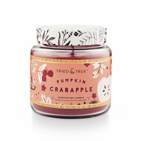 CLOSEOUT - Pumpkin Crabapple 15.5 oz. Large Jar Candle by Tried & True
