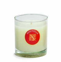 CLOSEOUT - Rosemary Wreath Holiday Large Signature Glass 11 oz. Nouvelle Candle