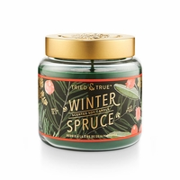 CLOSEOUT - Winter Spruce 15.5 oz. Large Jar Candle by Tried & True