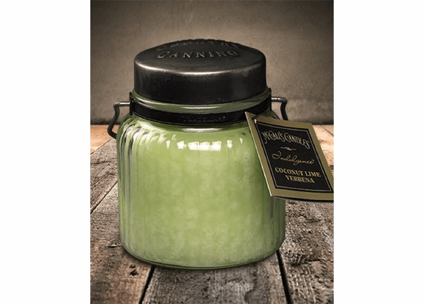 Coconut Lime Verbena 18 oz. McCall's Indulgence Jar Candle