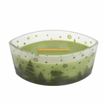CLOSEOUT-Evergreen Scenic Ellipse WoodWick Candle HearthWick Flame | Discontinued & Seasonal WoodWick Items!