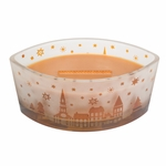 CLOSEOUT-Hot Toddy Scenic Ellipse WoodWick Candle HearthWick Flame | Discontinued & Seasonal WoodWick Items!